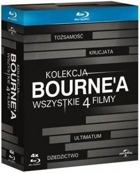 Bourne 1-4 (Blu-ray)