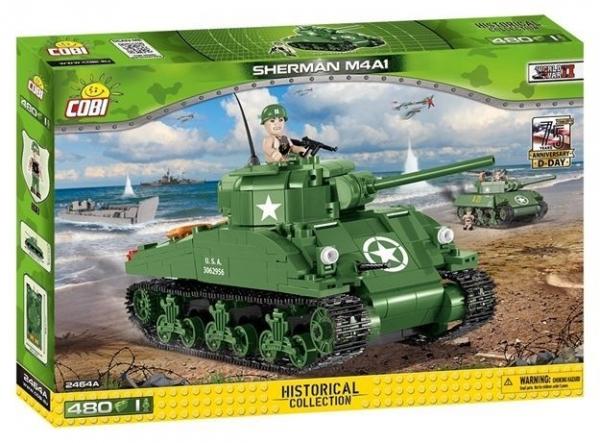Cobi: Mała Armia WWII. M4A1 Sherman (2464A)