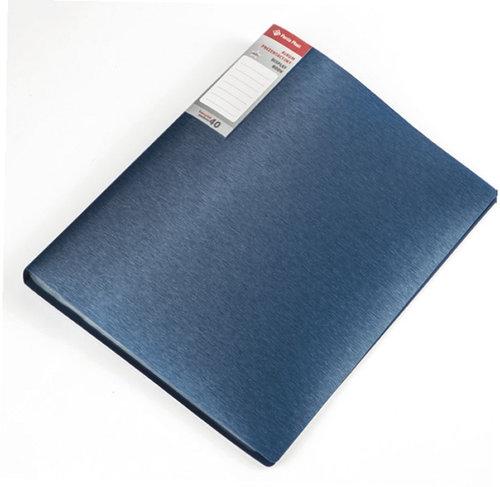 Album prezentacyjny simple niebieski 40 koszulek