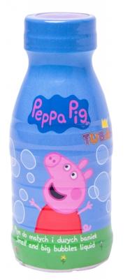 Tuban Płyn do dużych i małych baniek mydlanych 0,25l - Świnka Peppa (TU 3664)
