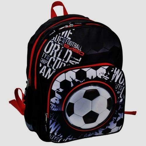 Plecaczek szkolny z piłką