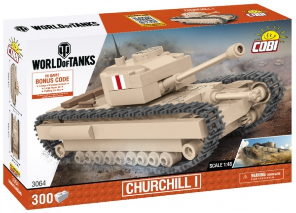 Klocki WOT Churchill I 1/48 (3064)