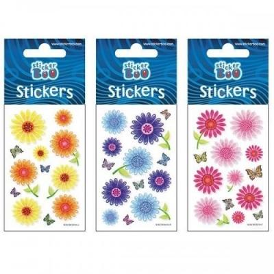 Naklejki Sticker BOO silver - Kwiaty #3