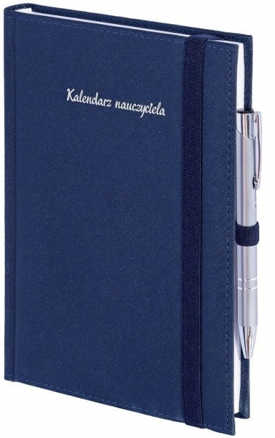 Kalendarz nauczyciela B5 2021/2022 tyg. z gumką