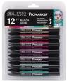 Zestaw pisaków Promarker Winsor & Newton - Chibi, 12 kolorów (0290054)