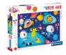 Clementoni, Puzzle Maxi SuperColor 60: Outer Space (26464)