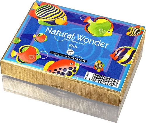 Karty do gry Piatnik 2 talie Natural Wonder