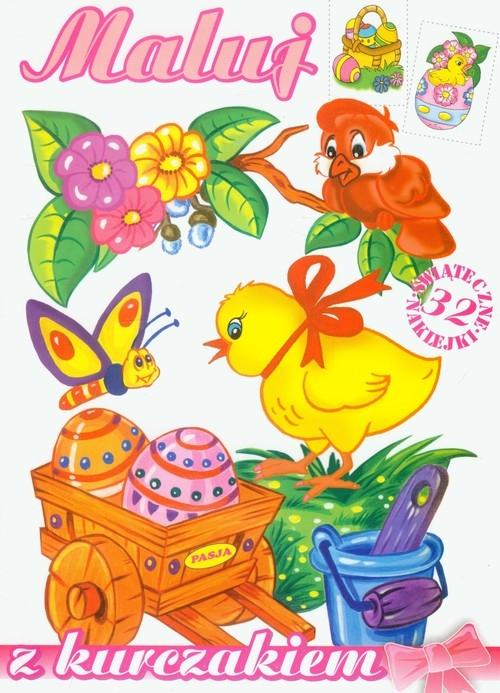 Maluj z kurczakiem Praca zbiorowa