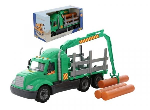 Majk samochód o przewozu drewna pudełko (55644)