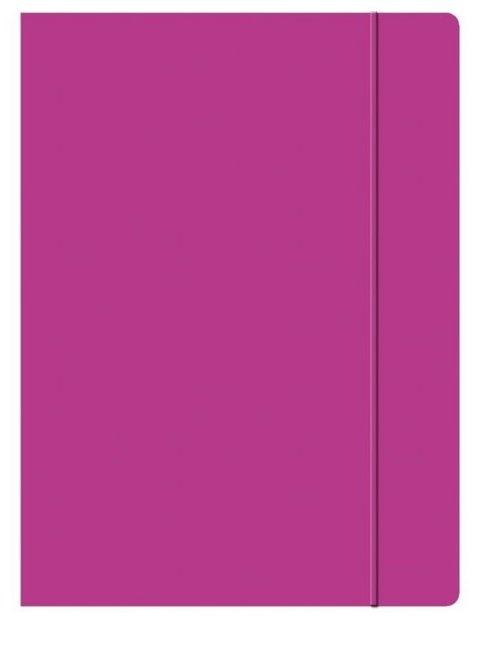 Teczka z gumką A4 różowa