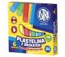 Plastelina Astra z brokatem 6 kolorów (303109001)