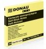 Notes samoprzylepny, żółty Donau Eco, 76x76 mm (102232)
