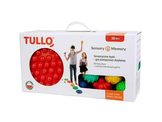Tullo, Sensoryczne dyski - gra pamięciowo dotykowa (464)