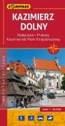 Kazimierz Dolny mapa turystyczna 1:35 000
