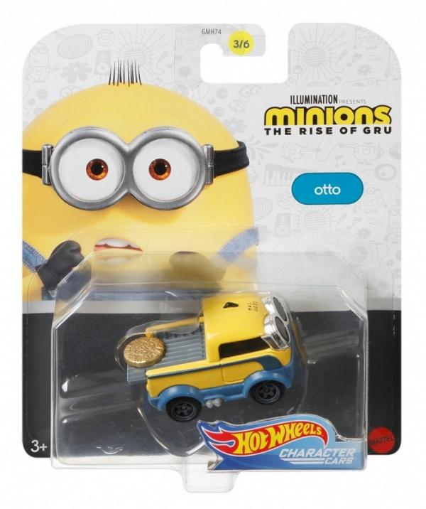 Samochodziki Minionki Otto (GMH74/GMH77)