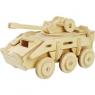 Puzzle drewniane 3D Transporter opancerzony