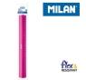 Linijka MILAN 30 cm różowa na blistrze