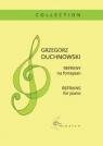 Refreny na fortepian Grzegorz Duchnowski