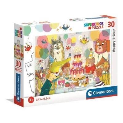 Puzzle 30 Super Kolor Happy B-Day!