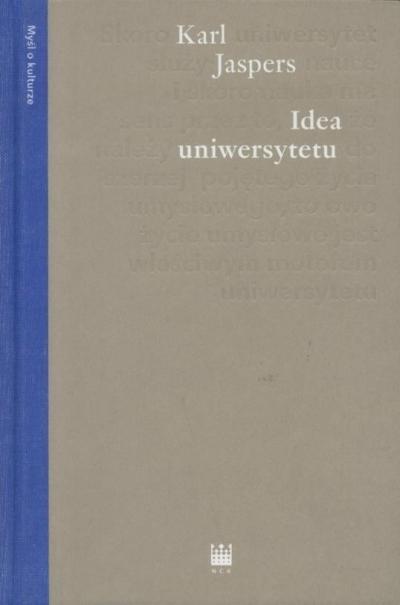 Idea uniwersytetu Jaspers Karl