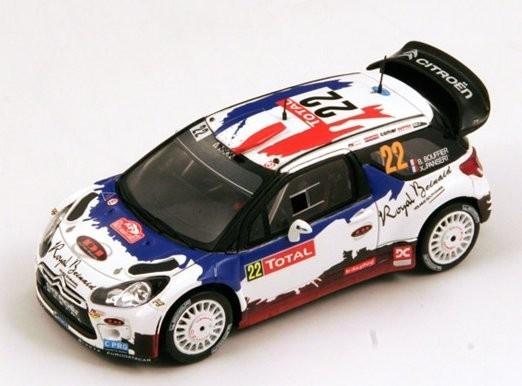 SPARK Citroën DS3 WRC #2 2 B. Bouffier