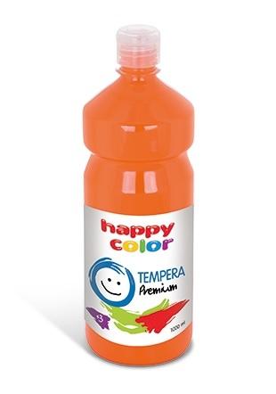 Farba tempera premium 1000ml - pomarańczowy