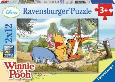 Puzzle 2X12 Kubuś i przyjaciele (075645) RAP075645