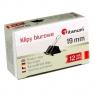 Klipy Titanum BC19 19mm, 12 szt. - czarne (58875)