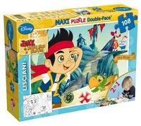 Puzzle dwustronne Maxi 108 Jake i piraci z Nibylandii (304-46645)