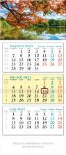 Kalendarz 2021 trójdzielny KT 05 Park