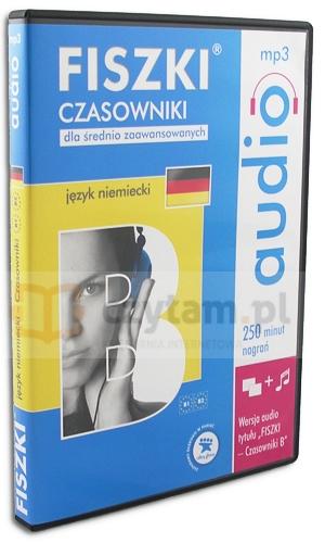 Fiszki Audio - Niemiecki Czasowniki dla średnio zaawansowanych (Audiobook)