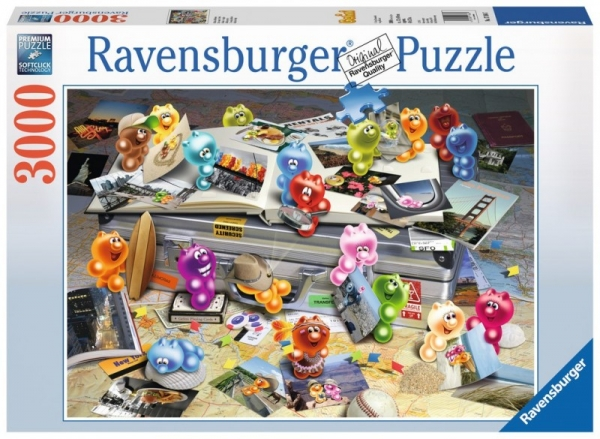 Puzzle 3000: Gelini' Podróżnicy (170647)