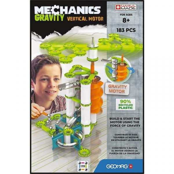 Klocki magnetyczne Mechanics Gravity 183 elementy (G764)