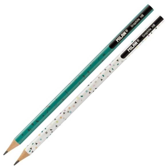 Ołówek trójkątny Graphite HB Happy Bots