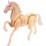 Łamigłówka drewniana Gepetto - Koń (105685) Wiek: 6+