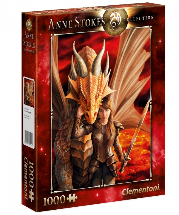 Puzzle 1000: Anne Stokes Collection - Inner Strength (39464)