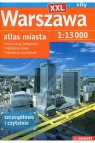 Warszawa XXL atlas miasta 1:13 000