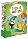 Piaskowe Malowanki - Panda / Wielbłąd (2464)