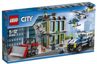 Lego CITY 60140 Włamanie buldożerem City