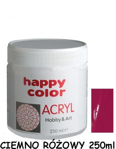 Farba akrylowa 250ml ciemnoróżowy (7370 0250-25)