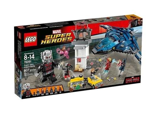 Lego Super Heroes Starcie superbohaterów (76051)
