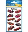 Tatuaże dla dzieci - Wyścigówki (56764)