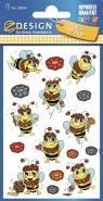 Naklejki brokatowe - Pszczółki (56064)