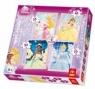Księżniczki - Puzzle 4w1 - 70 elementów (34064)