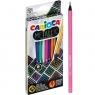 Kredki ołówkowe Carioca, 12 kolorów - metaliczne