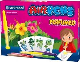 Centropen: Airpens Parfumed 1589, 5 kolorów + 8 szablonów (615890501)