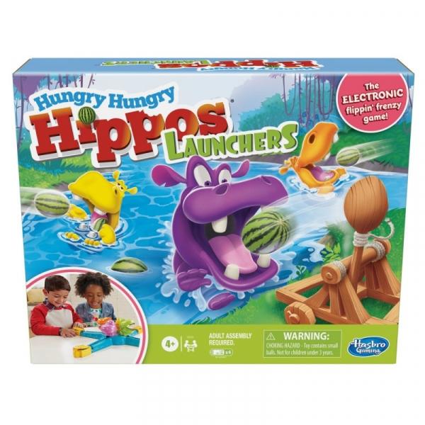 Gra Hungry Hungry Hippos Launchers (E9707)
