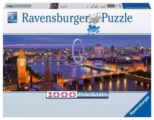 Puzzle panorama Londyn nocą 1000 (150649)