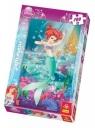 Puzzle 100 Disney księżniczki Arielka (16164)