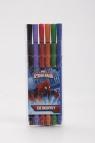 Cienkopisy 6 kolorów Spider-Man
